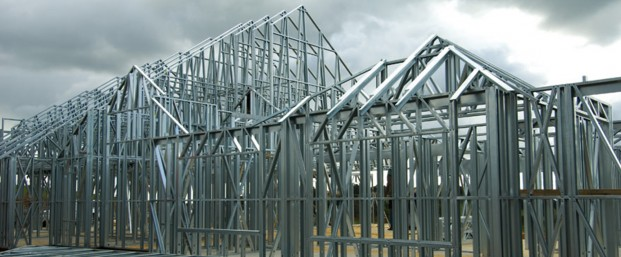 Steel framing structure